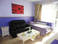 Studio apartment 1 km from the center of Anderlecht with Internet Lift Parking Terrace 396088