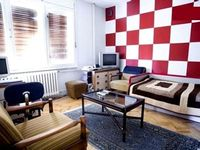 Spacious flat in the center of Skopje with Internet Washing machine Air conditioning Terrace