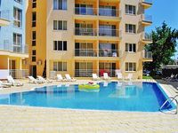 Modern apartment in Sunny Beach Bulgaria with 1 bedroom swimming pool air con and WiFi