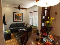 1 bed 1 convertable queen couch bed with full bath on the city s noth side