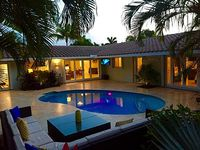3 Bed 2 Bath Private Home w Heated Pool Walk to Beach Lauderdale By The Sea
