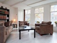 Charming two bedroom apartment that can accommodate four guests located in the Jordaan area in Ams