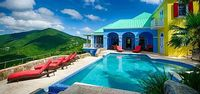 Villa Ridgemont 5 Bedroom - This villa has captivating ocean views overlooking the silky white sands and compelling surf of Long Bay on the northwestern coast of Tortola BVI You will be charmed by gentle island breezes swaying palms and cultivated gardens