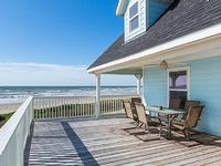 Beachfront Beauty in Galveston With Big Ocean Views - Sleeps 14