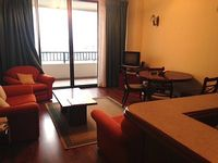 1-BR Apt on 9th Fl of premier Crescat complex in the heart of Colombo SL