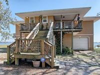 3 Bedroom two bath home with huge deck sunroom new pier and room to roam