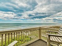 Atlantic views go on forever in this upscale 2Br 2Bath top end unit