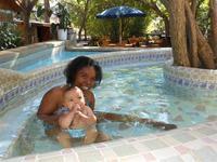 2p-Bungalow BLUME WiFi billard pool resto-terrasse