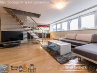penthouse de luxe avec balcon et sauna