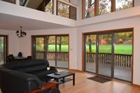 Modern Golf course house by Lake Wallenpaupack