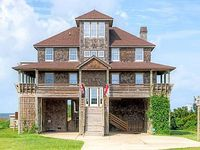 Sea Lady II 5 BR Soundfront home in Rodanthe - Amazing sunset water views