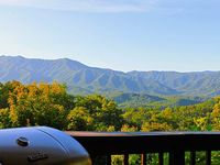 3 Bed 3 Bath Easy Access 2880 sqft Luxury Cabin Mt Leconte Views Pool Access