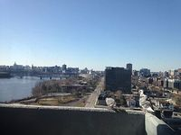 Waterfront Penthouse One Bedroom Condo facing Parliament Hill and Ottawa River