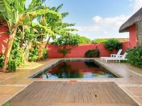 Gorgeous 1-bedroom villa in Pointe aux Piments with a private swimming pool 1 5km from the beach
