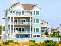 Time Out 8 BR 9 2 BA ocean front in Salvo Sleeps 22