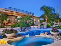 4 bedroom 3 bath home in Scottsdale with a private tropical back yard paradise