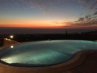 5 bedrooms 31 2 bathrooms fantastic views over Paphos and the South coast