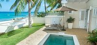 Little Good Harbour House - Beach Front Located in Fabulous St Lucy with Private Pool