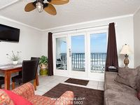 Cute 1 bedroom condo affordably priced with an uncompromising beach view