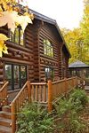 6700 sq foot custom built log home on one of Iron County s most pristine lakes