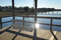 Gorgeous villa Walk to everything Pool dock