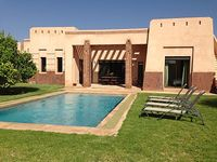 Luxury villa with private pool in Apple Gardens Resort and Spa Marrakech