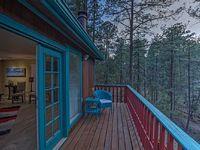 Treetop Hideaway - Beautiful retreat w 3 decks hot tub peaceful ambiance