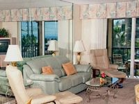 Large two bedroom with an updated open kitchen and spectacular Gulf of Mexico views