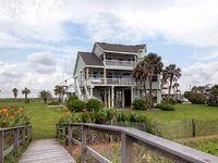 Gorgeous 3BR Galveston House w Superb Beach Views
