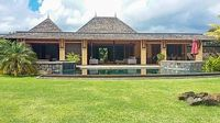 Luxury villa in Mauritius Tamarina golf resort w sunny terrace private pool air con and WiFi