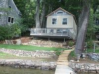 Wonderful family vacation house Nice swimming area large deck dockage
