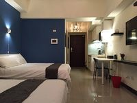 Apartment in Taipei City 1 bedroom 1 bathroom sleeps 4