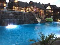 LUXURY Lakefront Villa 50 OFF PROMO Lazy River-HUGE POOL Waterpark 2MI to SDC