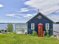Boathouse near Algonquin Park