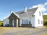 This detached cottage on Achill Island in County Mayo sleeps nine people in four bedrooms