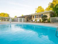 Fresh Inviting 6 BR Heated Pool Home Near Beach Sleeps 16