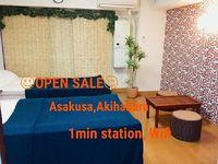 Apartment in Taito 2 bedrooms 1 bathroom sleeps 6