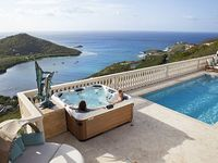 Rent 1 - 8 king bedrooms suites with full private villa access Spa Pool Gym