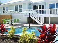 3 Bed 3 5 Bath SLEEPS 10 Heated pool spa garage Minutes walk 2 beach