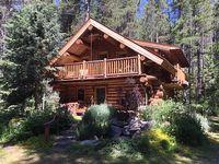 Log Home Near Glacier National Park