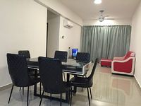 Apartment in Ipoh 3 bedrooms 2 bathrooms sleeps 7
