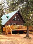 Secluded 2BR Black Hills A-Frame Cabin Tucked Away in the Trees - Minutes from Ski Slopes