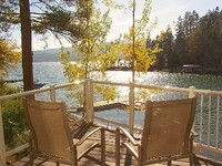 Waterfront Flathead Lake Home not condo Decks Dock Quiet Neighborhood
