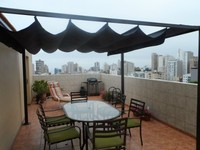 Miraflores Penthouse-Rooftop Private Terrace-2 levels- Ocean View-4 bedroom