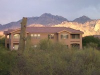 Vistoso Golf Casita with Golf Course Desert and Mountain View