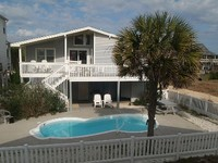 Beautiful 4 Bedroom Cottage w Pool Ocean Side -Great Views Oct 8-14 OPEN