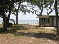 Cottage on Perdido Bay Right on the Water Big Trees Quiet
