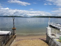Weirs Beach 2 Bedroom Cottage Steps Away from Lake Beach