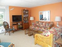 Spectacular Views Beachfront 2 bedroom 2 bath corner unit with wrap around lanai pet friendly with approval