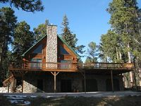 Welcoming 5BR Black Hills Cabin w Hot Tub - Minutes to Ski Hiking Snowmobiling Trails